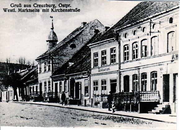 Restaurant Splittgerber - Kreuzburg-  westliche Marktseite