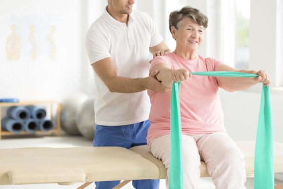 Bobath Therapie basel der Physiotherapie Santewell bei neurologischen Erkrankungen