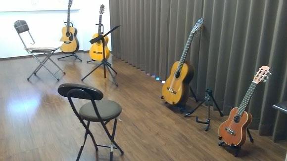 東新町教室のレッスンスタジオ