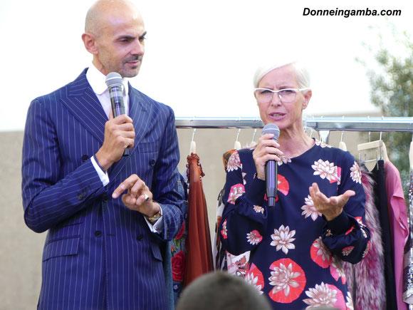 77c2f275742d Enzo Miccio e Carla Gozzi al Torino Outlet Village  la loro intervista