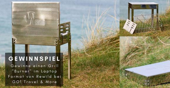 """Grill """"Burner"""" von Rewild - Bilder wurden von """"Rewild"""" zur Verfügung gestellt"""