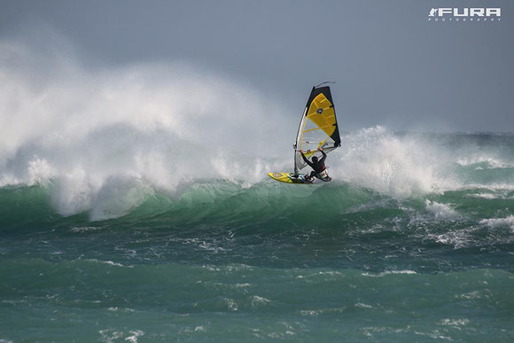 Wave Windsurfen in Tarifa
