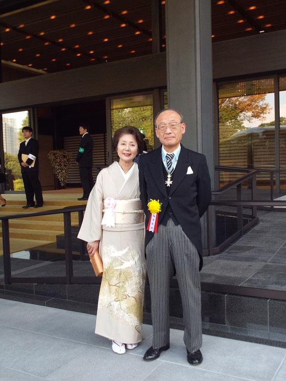 細田敏昭元東海農政局長と夫人