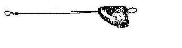 plombs de peche LE TARPON : plomb à lancer tete de poisson