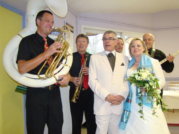 la musique de jazzc est idéal pour l'ambiance de votre mariage