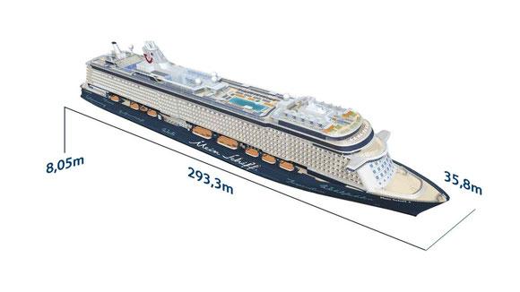 Mein Schiff 3 Querschnitt