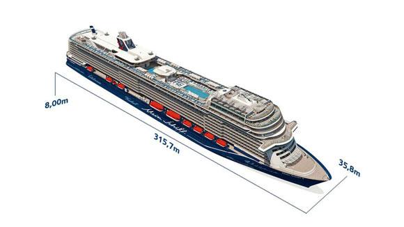 Mein Schiff 2 Querschnitt