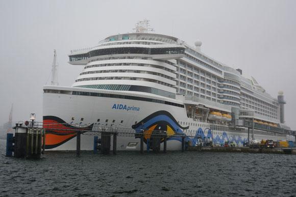 AIDAprima Kiel