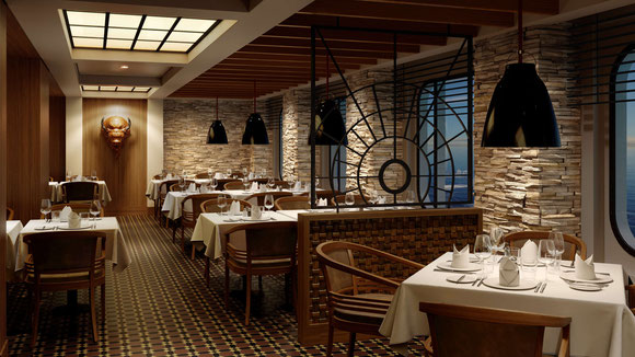 AIDAmira Buffalo Steakhouse