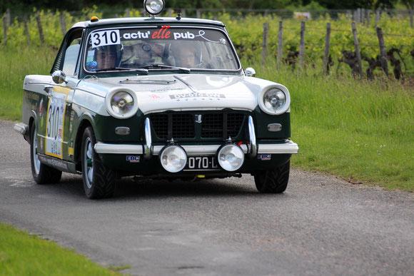 Rallye VHC voiture historique de compétition