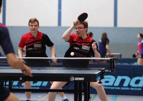 Moritz und Frederik Spreckelsen hoffen auf eine volle Halle beim letzten Punktspiel der Hinrunde.