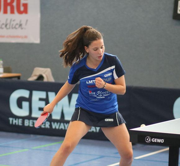 Die 17 Jahre alte Karina Pankunin krönte ihre starke Gesamtleistung bei der Top-48-Bundesrangliste der Mädchen mit dem Erreichen des fünften Platzes.