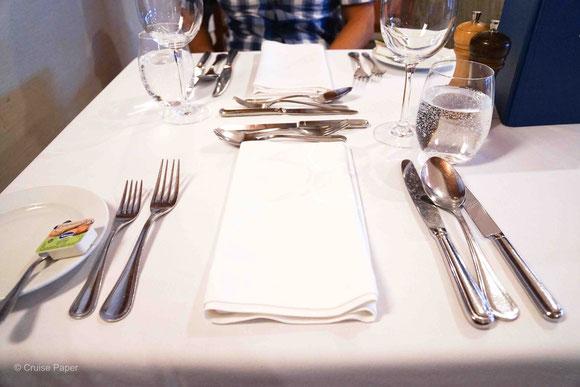 MS DOURO CRUISER Abendessen