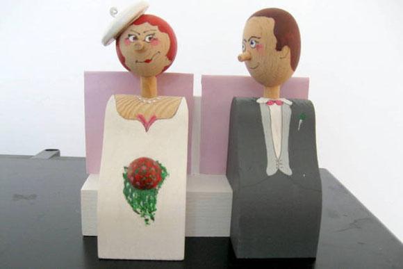 Goldene Hochzeit- Pärchen