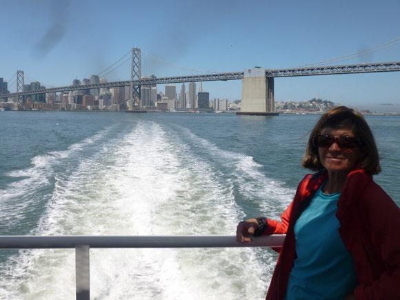 Un dernier regard sur la baie de San Francisco
