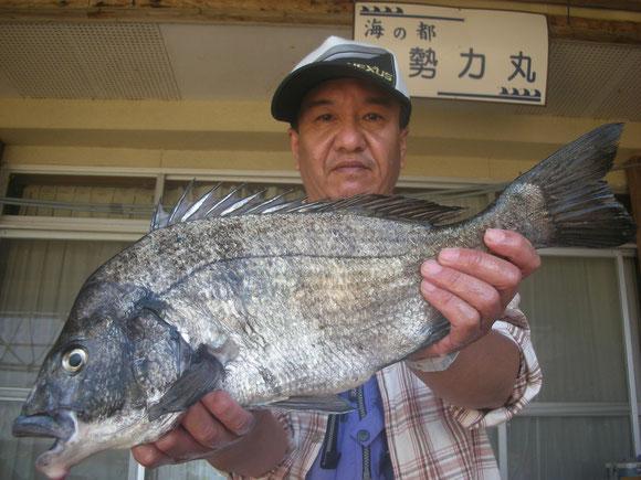 松田 功さん 52.7㎝