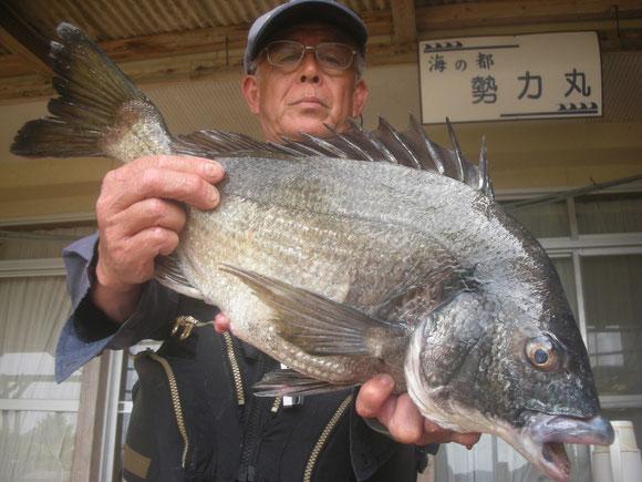吉光 栄二さん 53.5㎝