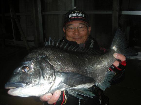 野田 澄雄さん 52.3㎝