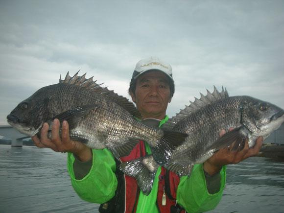 川端 義美さん 52.5㎝