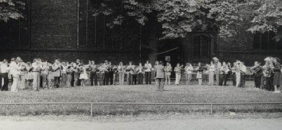 Greifswald 1976 mit Kurt Schramm