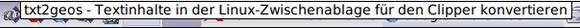 """""""txt2geos"""" im JWM-Panel"""