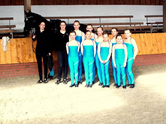 Team I im April 2013
