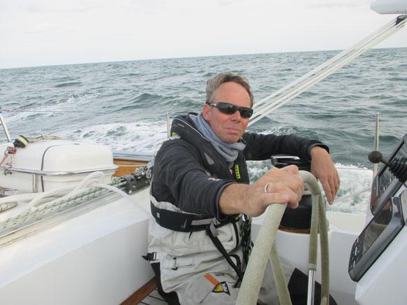 Der Skipper und sein Schiff... bald wieder unterwegs!
