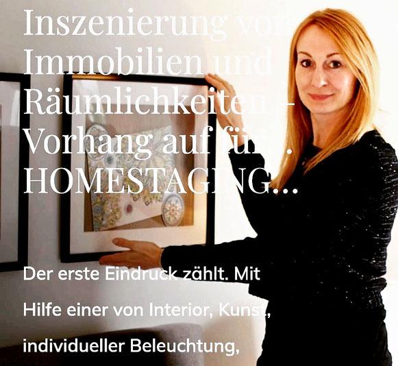 Bericht zu Homestaging und Interiortrends mit NICE Homestaging
