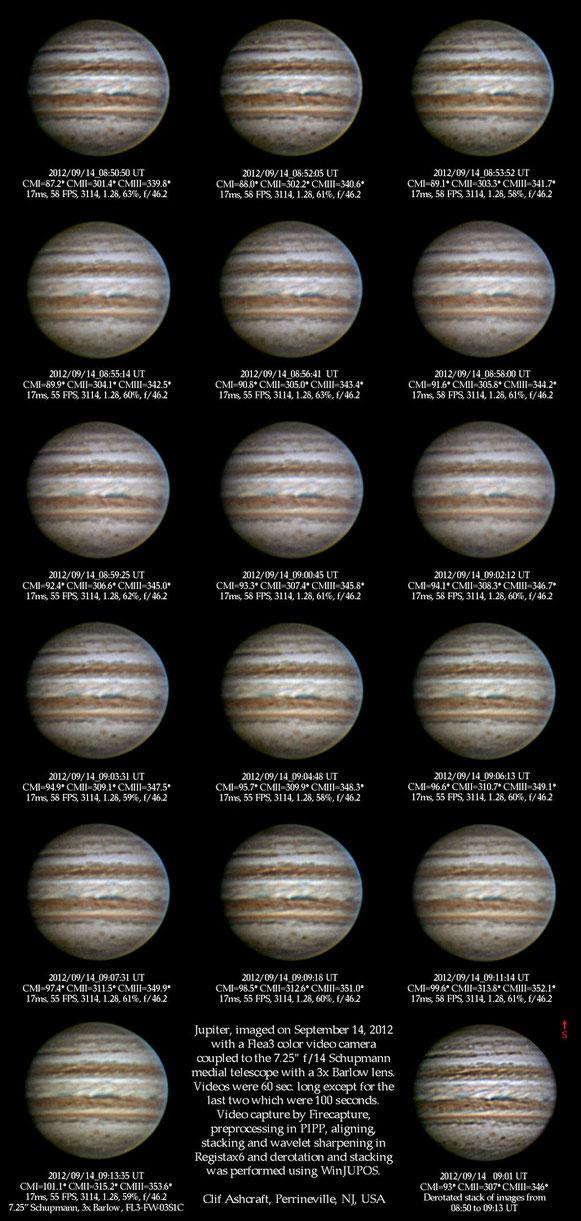Jupiter images 9/14/12