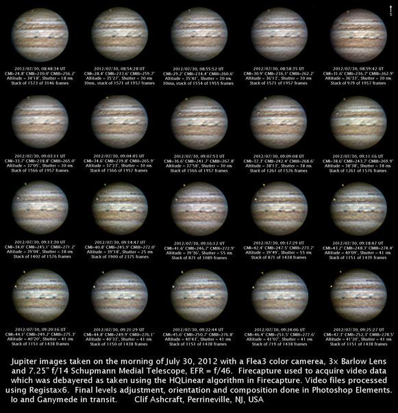 Jupiter, July 30, 2012
