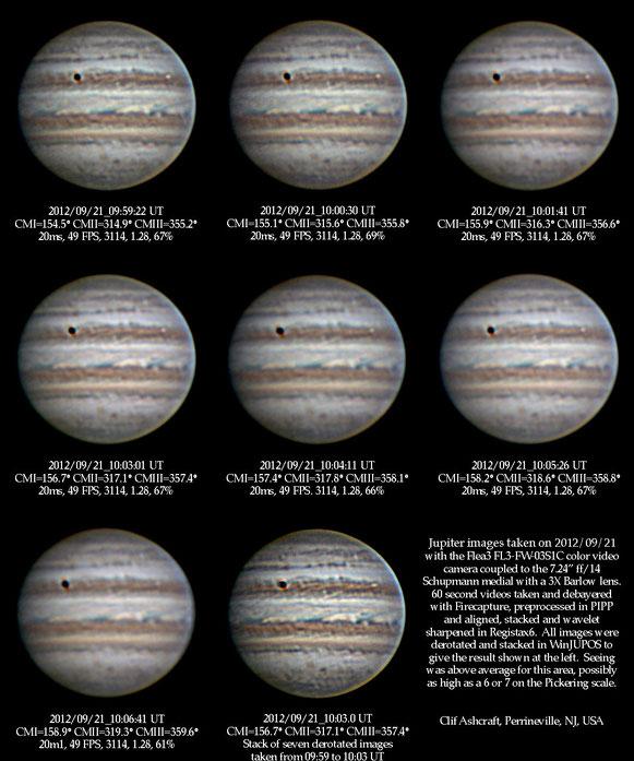 Jupiter, September 21, 2012