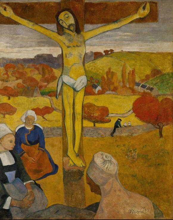 ポール・ゴーギャン「黄色いキリスト」(1889年)