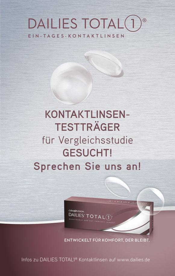 Optik Menzel Kontaktlinsen Testaktion Dailies Total1