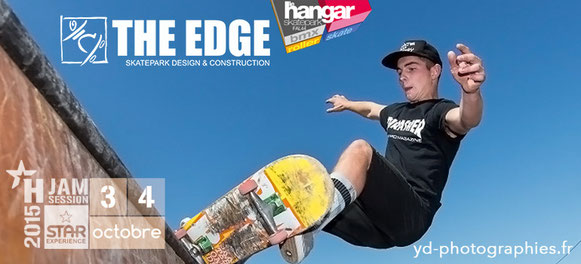 THE EDGE Skatepark Design & Construction - Partenaire de la H'Jam Session au Wake park de St Viaud