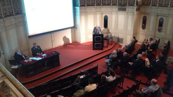 Vortragsabend im Haus der Gesellschaft der Ärzte in Wien (Billrothhaus)
