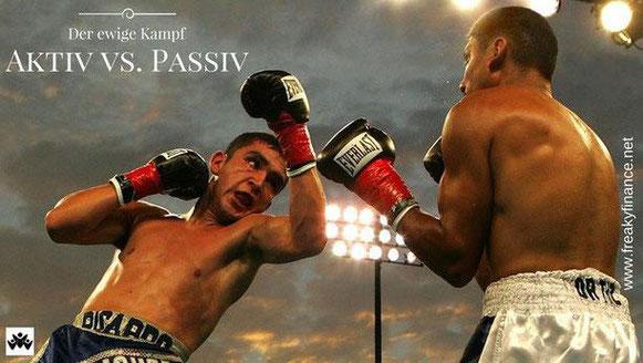 freaky finance, boxen, Boxer, Boxkampf, aktiv, passiv, Duell, Vergleich, ETF, Investmentfonds