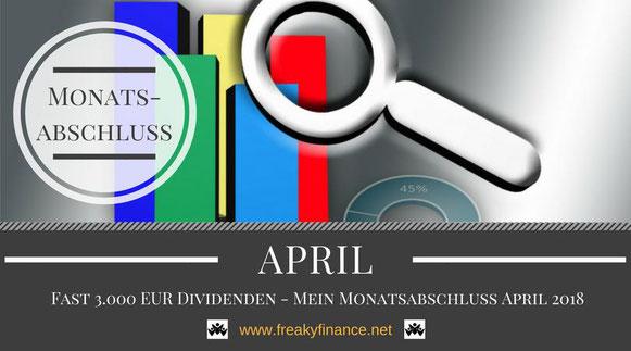 freaky finance, Monatsabschluss, April 2018, Statistik, Balkendiagramm, Lupe
