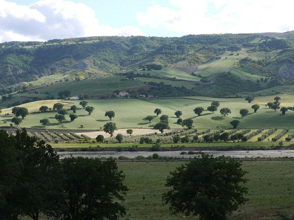 150 km weiter, auf dem Weg nach Castelmezzano