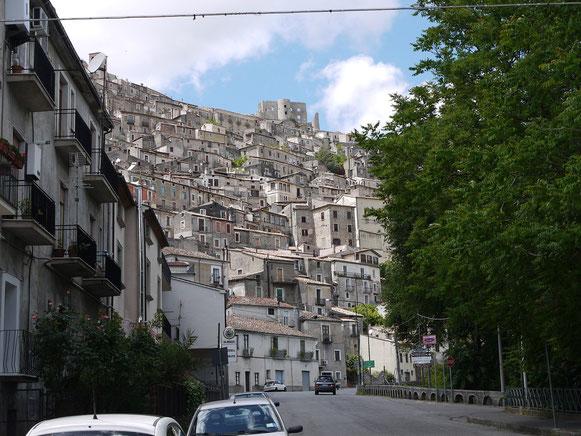 noch ein Bergnest, Morano Calabro, im Hinterland.
