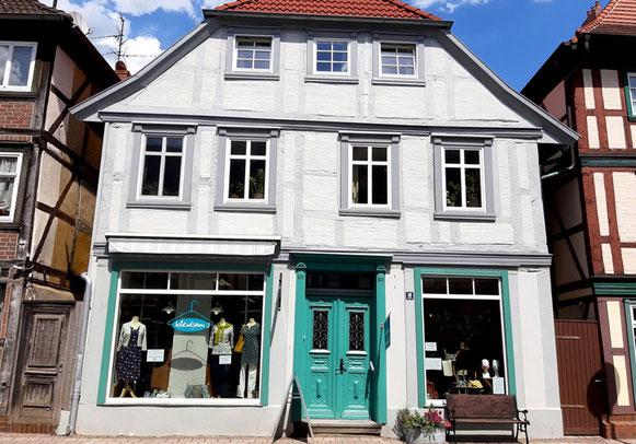 Dachgeschoss Ferienwohnung mit bester Aussicht auf Grabows historische Altstadt!