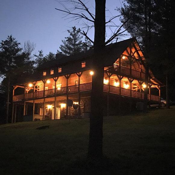 Hidden Lake Lodge Private Luxury Cabin