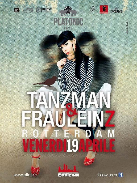 Fraulein Z & TanzMan @ Platonic Love, Sicily
