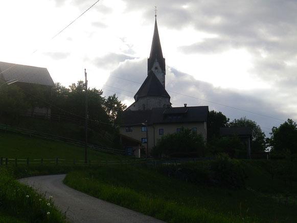 Maria Namen in Göriach am  späteren Nachmittag