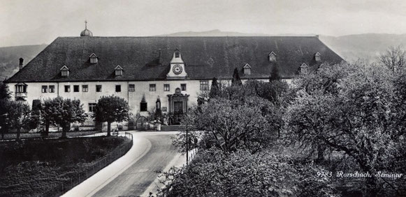 Lehrerseminar Mariaberg Rorschach (alte Postkarte ca. 1920)