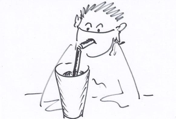 Virenfrei trinken mit dem Anti-Corona-Virus-Röhrli