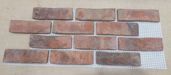 BrickMesh Real Brick Tile Mosaic