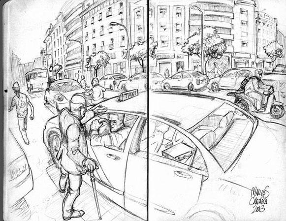 Agradecimiento al artista, Marcos Cañada, por su ilustración desinteresada.