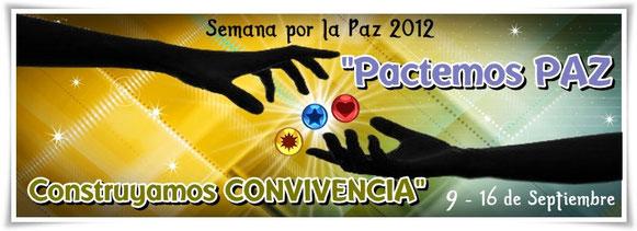 La Semana por la Paz es un escenario que busca hacer visible los procesos y esfuerzos de miles de personas que trabajan por el logro de la paz y por la construcción de iniciativas para dignificar la vida. Desde 1994, en nuestra querida Colombia, REDEPAZ