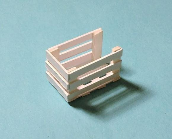 Miniatur-Kiste Bastelanleitung