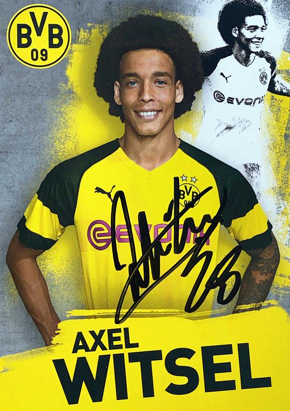 Autograph Axel Witsel Autogramm